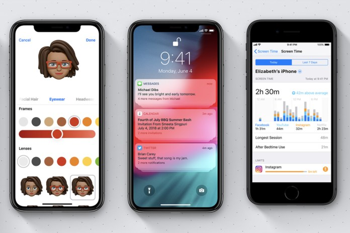 Memoji, Grouped Notifications, and Device Time Management app