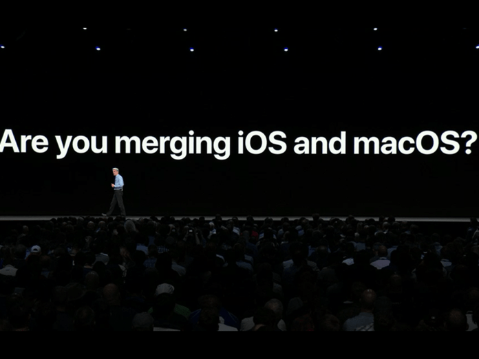 MacOS and iOS won't be merged