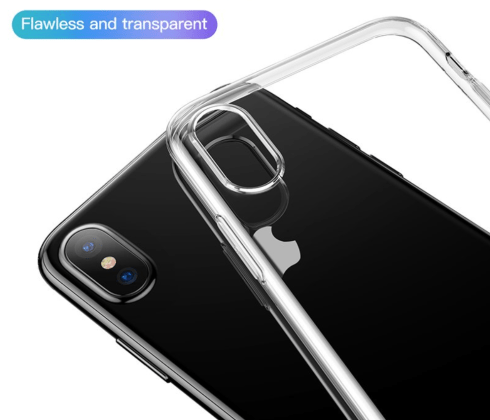 Soft Silicone Ultra Thin Transparent Case with iPhone
