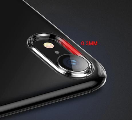 Camera Soft Silicone Ultra Thin Transparent Case