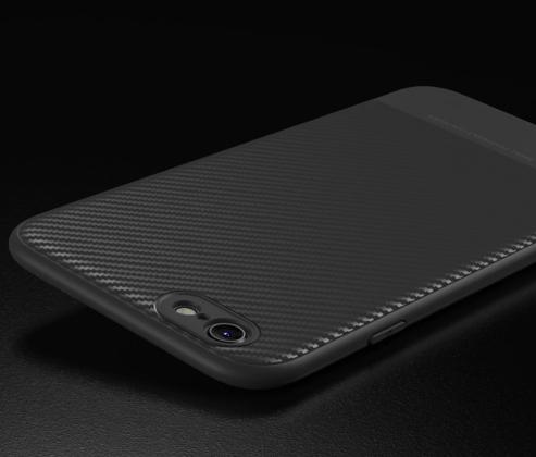 Thin Carbon Fiber Case Grey