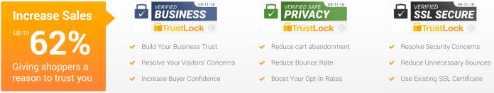 Trust badges trustlock