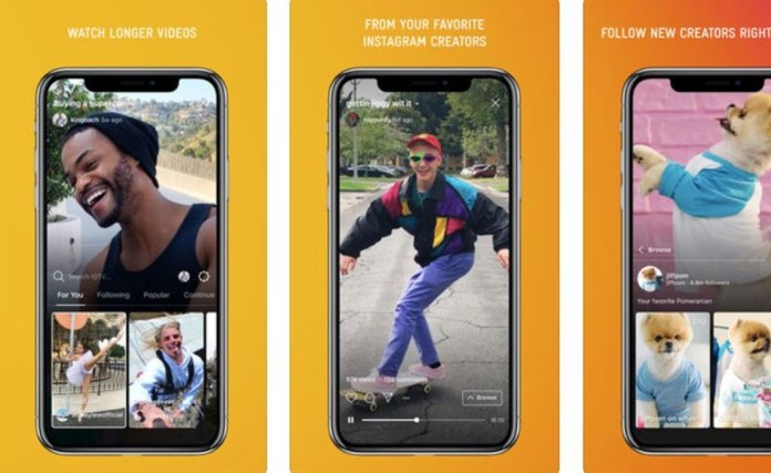 Instagram TV (IGTV) is aimed at young content creators