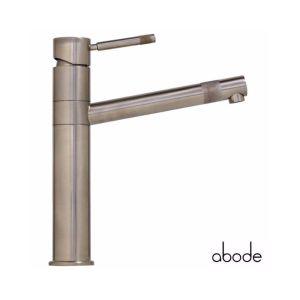 Abode Hydrus Single Lever Mono Sink Mixer Brushed Nickel