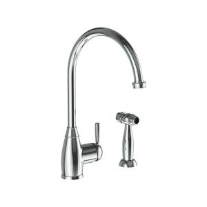 Abode Brompton Single Lever Sink Mixer with Handspray Chrome