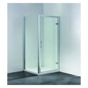 April Identiti2 700mm Hinged Semi-Frameless Shower Door