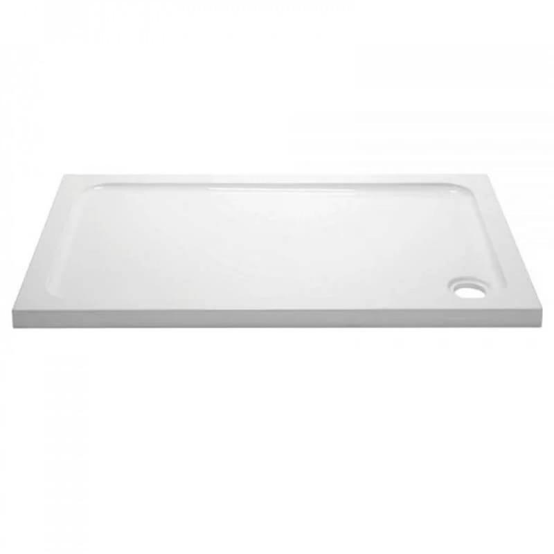 April 1000x800mm Rectangular Shower Tray