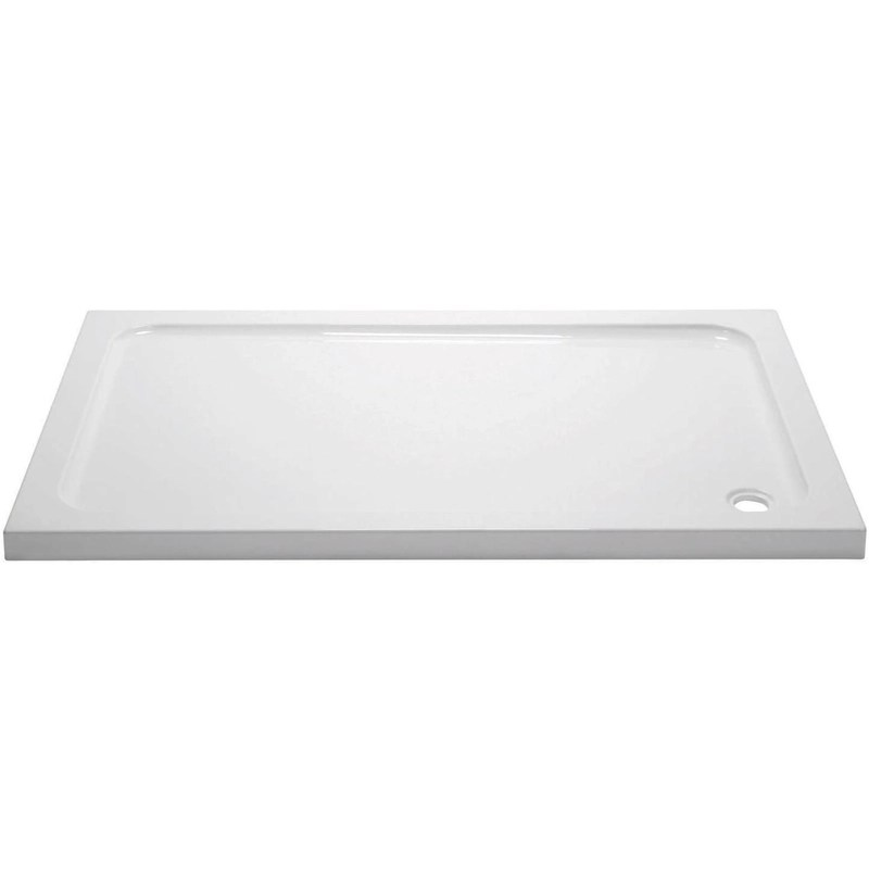 April 1400x900mm Rectangular Shower Tray