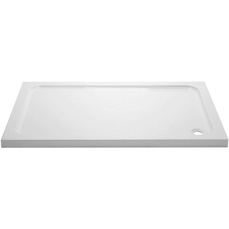 April 1600x700mm Rectangular Shower Tray