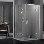 Aquadart Inline Hinged Door 2 Sided Enclosure 1000x900mm
