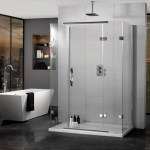 Aquadart Inline Hinged Door 3 Sided Enclosure 1400x800mm