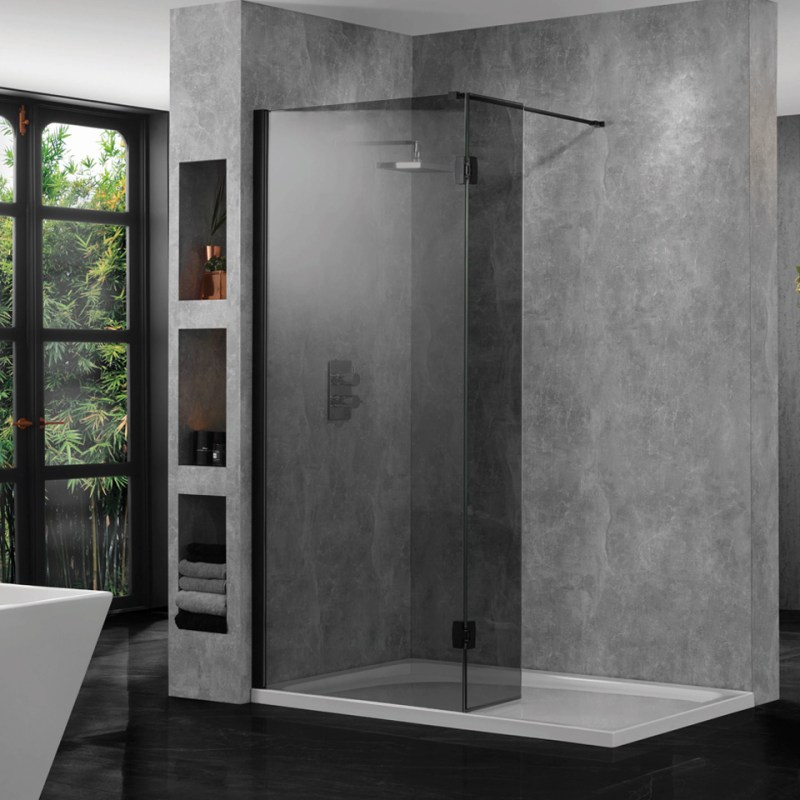 Aquadart 10mm Wetroom Profile Pack Black