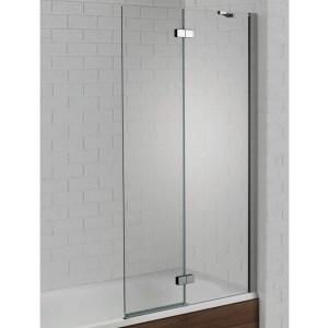 Aquadart Venturi 6 Hinged Bath Screen Right Hand