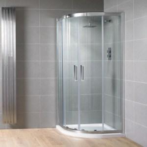Aquadart Venturi 8 Double Door Quadrant Enclosure 1000x800mm