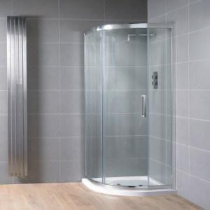 Aquadart Venturi 8 Single Door Quadrant Enclosure 1200x900mm