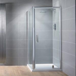 Aquadart Venturi 8 Pivot Shower Door 900mm