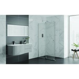 Aquadart Rolla 8 Sliding Wetroom Door 1000mm