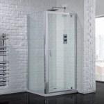 Aquadart Venturi 6 Pivot Shower Door 760mm