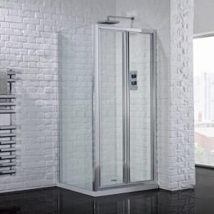 Aquadart Venturi 6 Bifold Shower Door 760mm