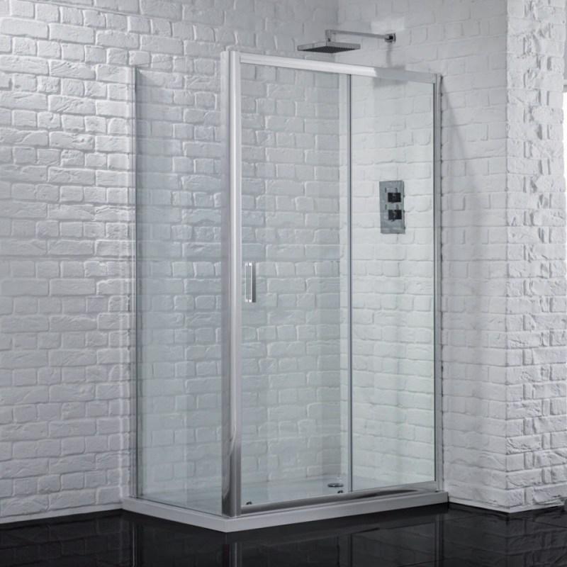 Aquadart Venturi 6 Sliding Shower Door 1500mm