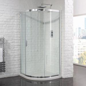 Aquadart Venturi 6 Single Door Quadrant Enclosure 1000x800mm