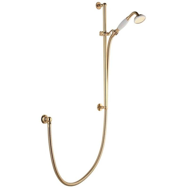 Aqualisa Aquatique Adjustable Shower Head Gold