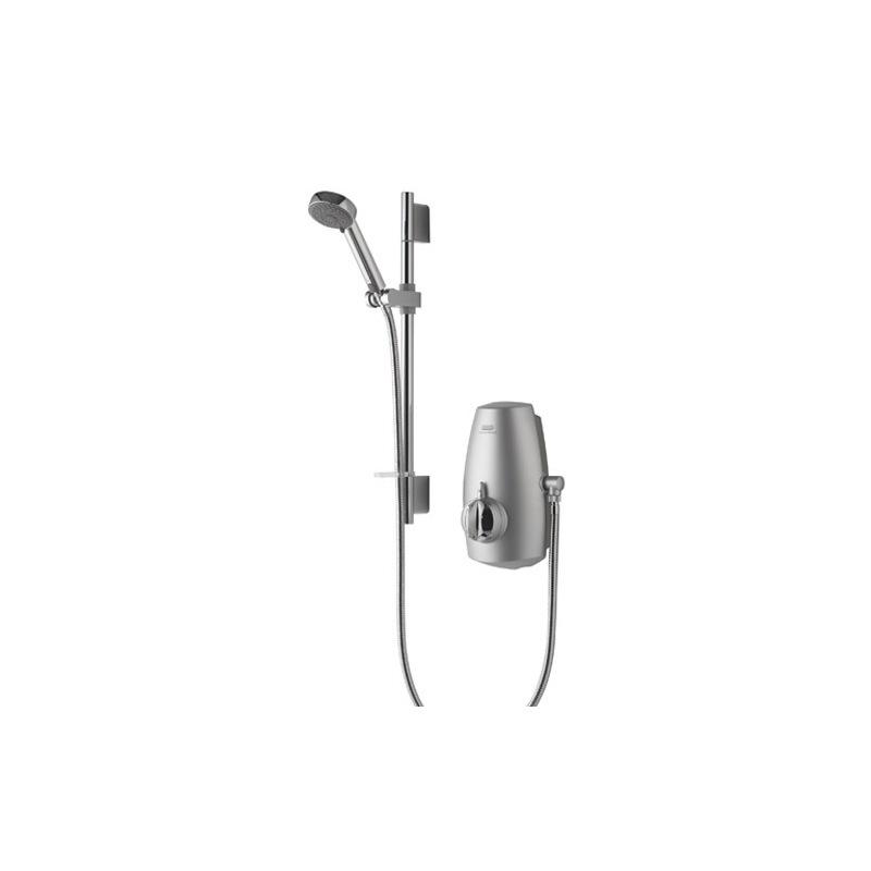 Aqualisa Aquastream Thermo with 90mm Harmony Head - Satin Chrome