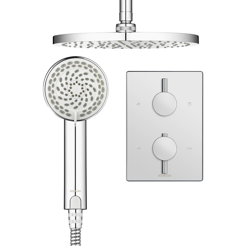 Aqualisa Dream Shower Mixer with Wall Head Chrome