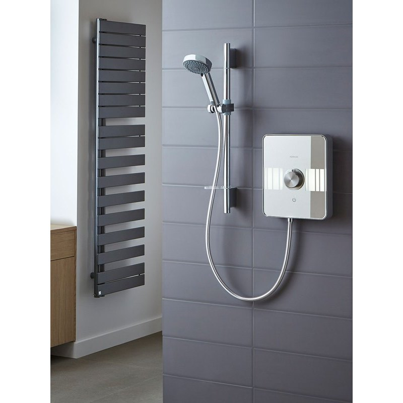 Aqualisa Lumi Electric 10.5kW Shower & Kit Chrome
