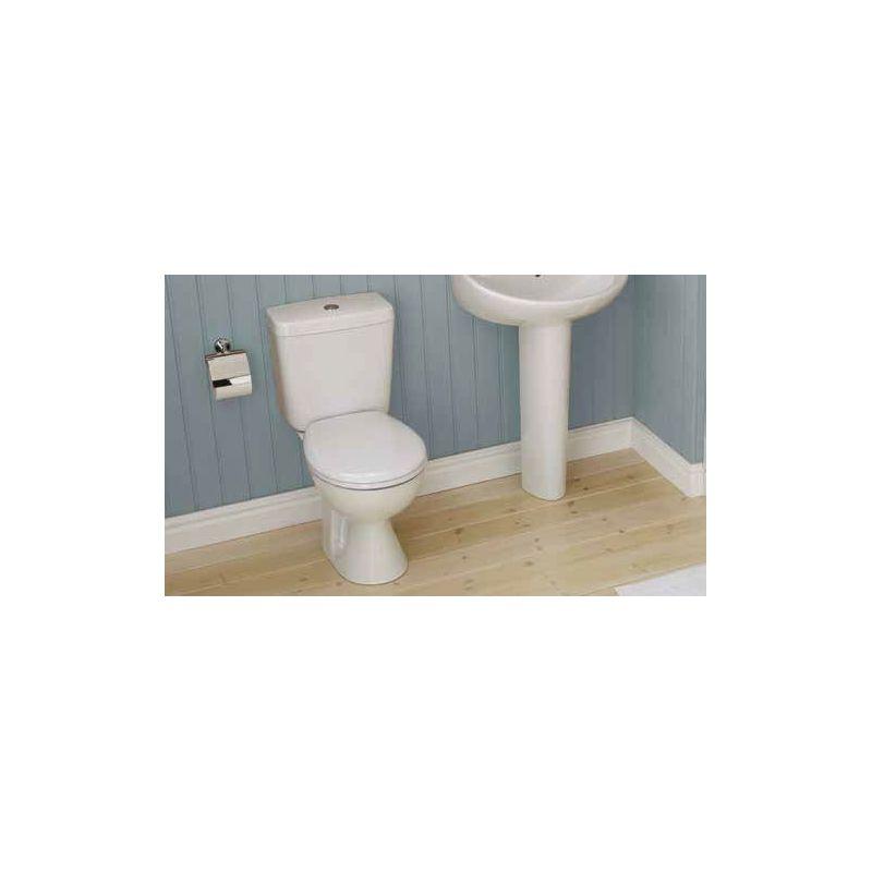 Armitage Shanks Sandringham 21 Close Coupled Toilet, Standard Seat
