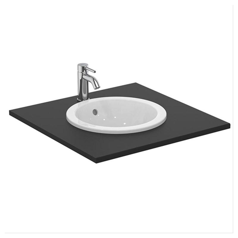 Armitage Shanks Edit R 38cm Countertop Washbasin No Taphole S0791