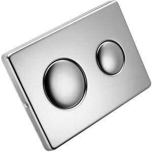 Armitage Shanks Contemporary Flush Plate Stainless Steel