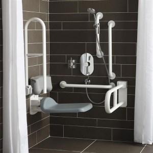 Armitage Shanks Contour 21 Shower Holder S6477 Charcoal