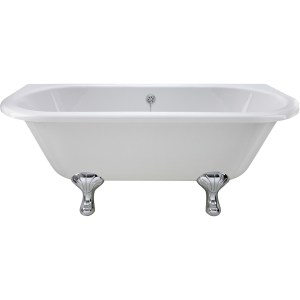 Bayswater Courtnell 1700mm Double Ended Freestanding Bath