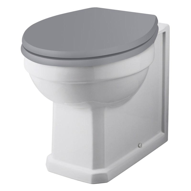 Bayswater Fitzroy Back To Wall WC Pan (Excluding Seat)