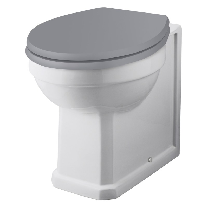 Bayswater Fitzroy Comfort Height Back To Wall WC Pan