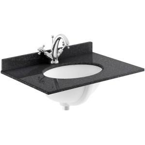 Bayswater Plummett Grey 600mm 2 Door Basin Cabinet