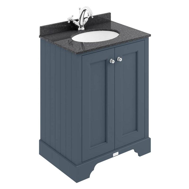 Bayswater Stiffkey Blue 600mm 2 Door Basin Cabinet
