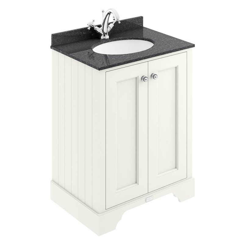 Bayswater Pointing White 600mm 2 Door Basin Cabinet