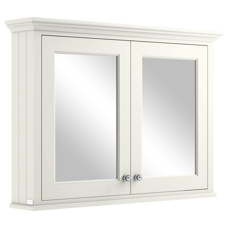 Bayswater Pointing White 1050mm Mirror Wall Cabinet