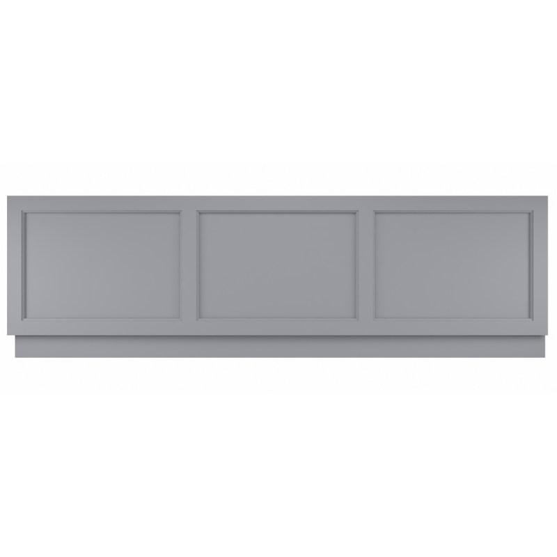 Bayswater Plummett Grey 1800mm Bath Front Panel