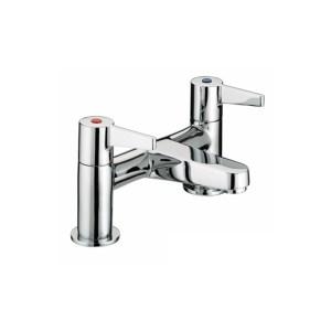 Bristan Design Utility Lever Bath Filler Chrome