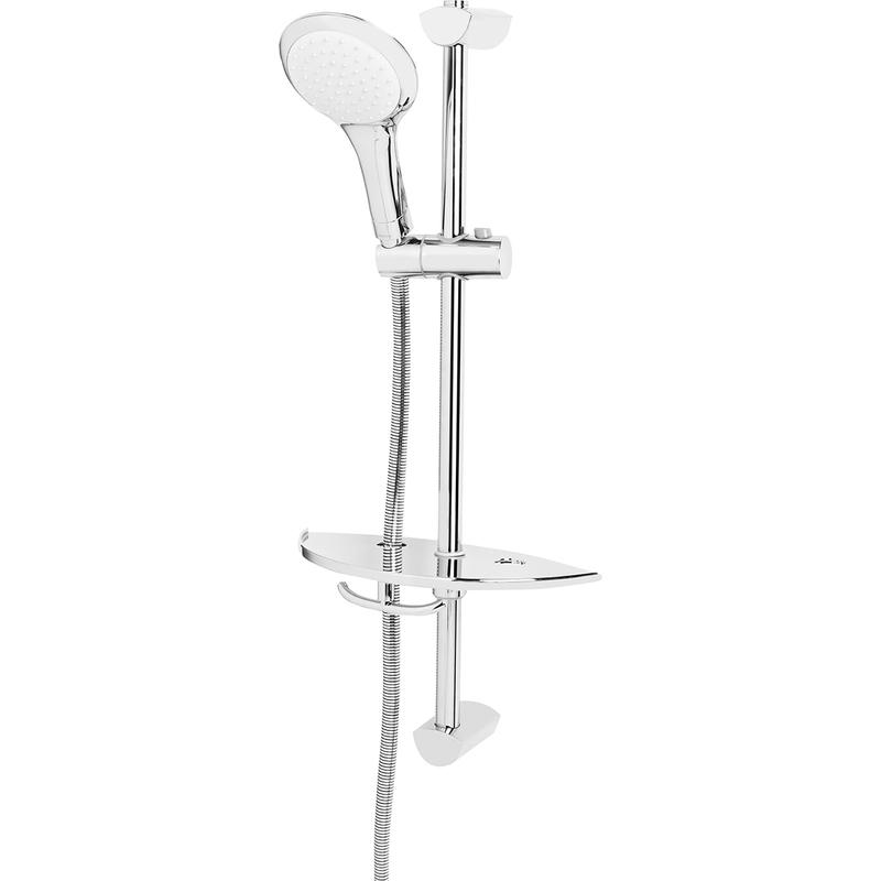 Bristan Single Function Extended Slide Bar Shower Kit Chrome