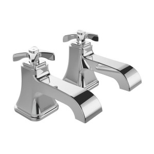Bristan Glorious Bath Taps Chrome