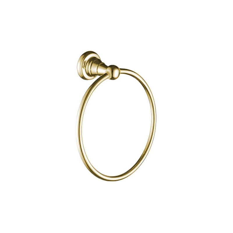 Bristan 1901 Towel Ring Gold