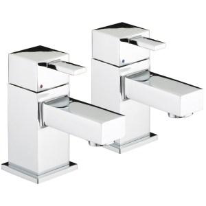 Bristan Quadrato Basin Taps 4 Litre per Minute Flow