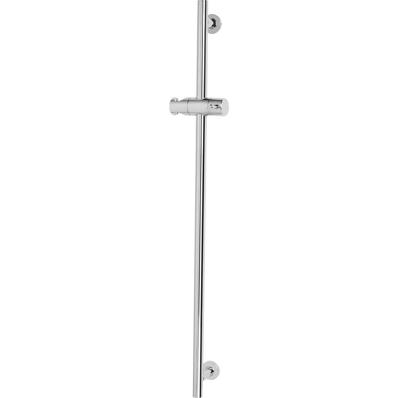 Bristan Brass Riser Rail with Fixed Position Brackets