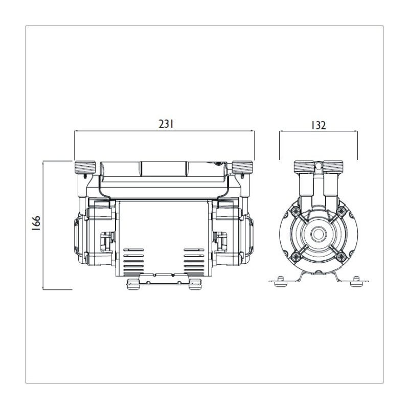 Bristan 2.0 Bar Twin Ended Shower Pump by Stuart Turner