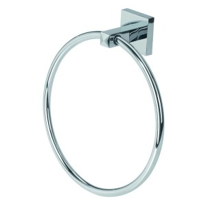 Bathrooms To Love Lissi Towel Ring Chrome