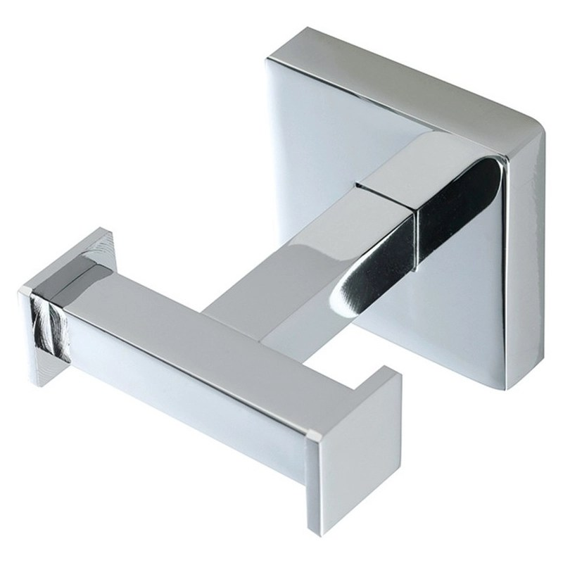 Bathrooms To Love Lissi Double Robe Hook Chrome